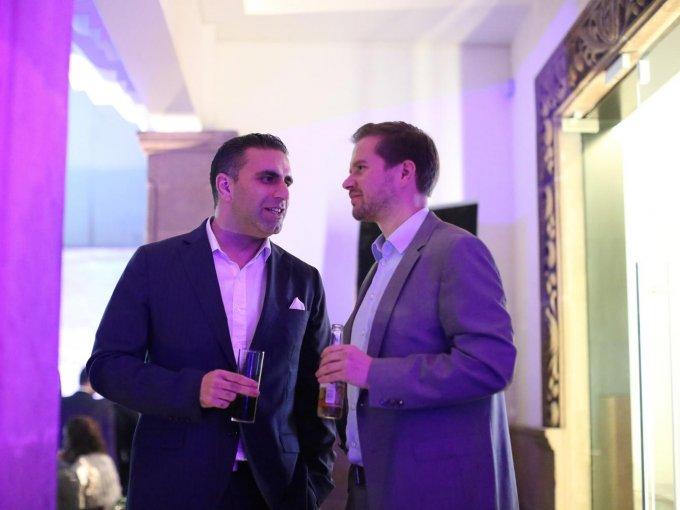 Omar Afzali y Oliver Rosenthal