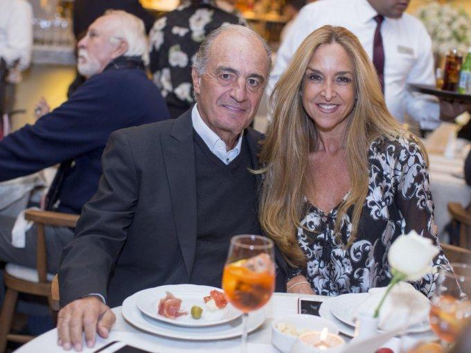 Jaime González y Mariana Rivas