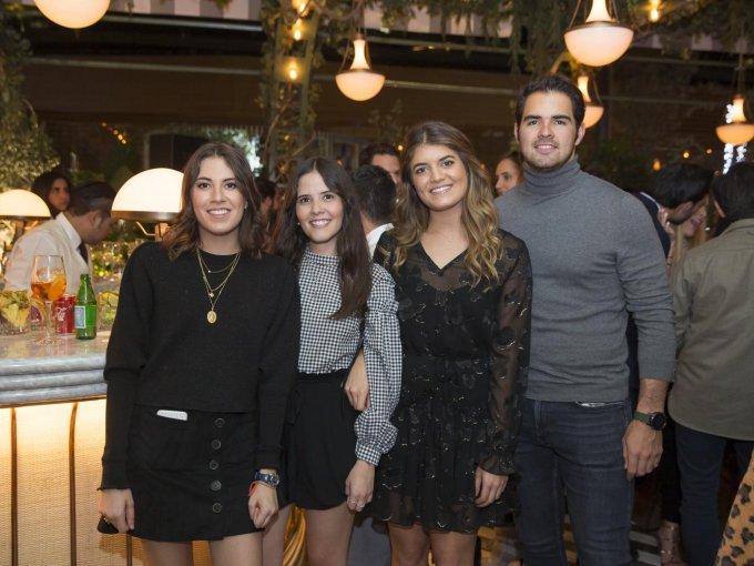 Ale Sainz, Mariana Villa, Camila Kanahuati y Jerónimo Azcué
