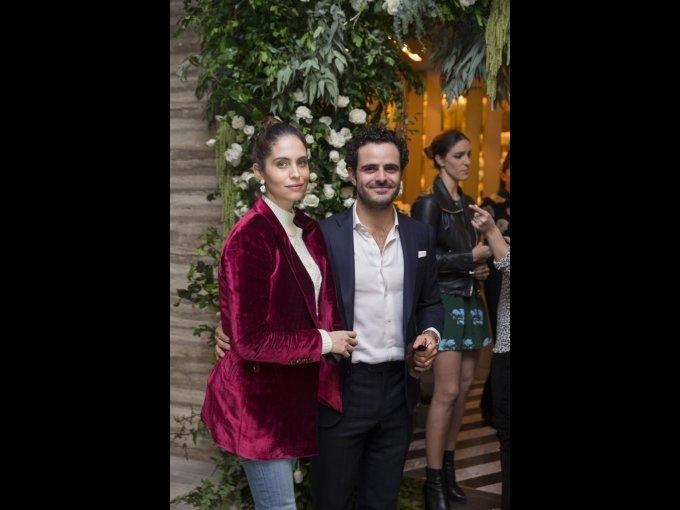 Ximena Urquiza y Santiago Cuaik