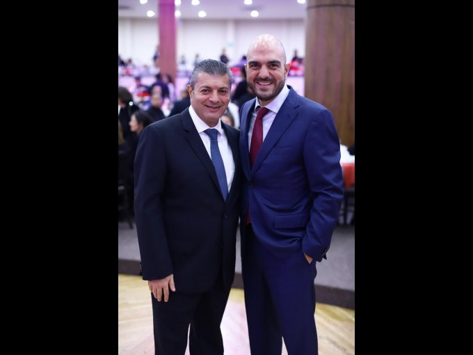 Michel Luro y Daniel Karam