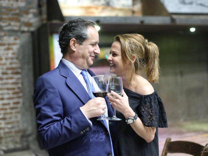Francisco García Cosío y Liz Arias de García