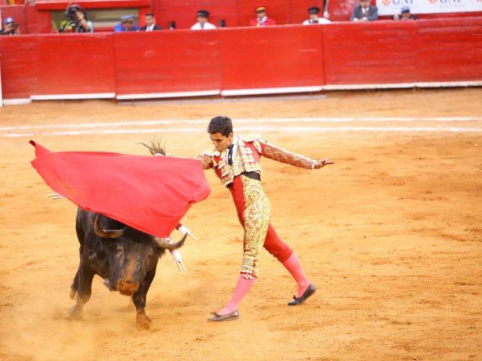 El matador Leo Valadez