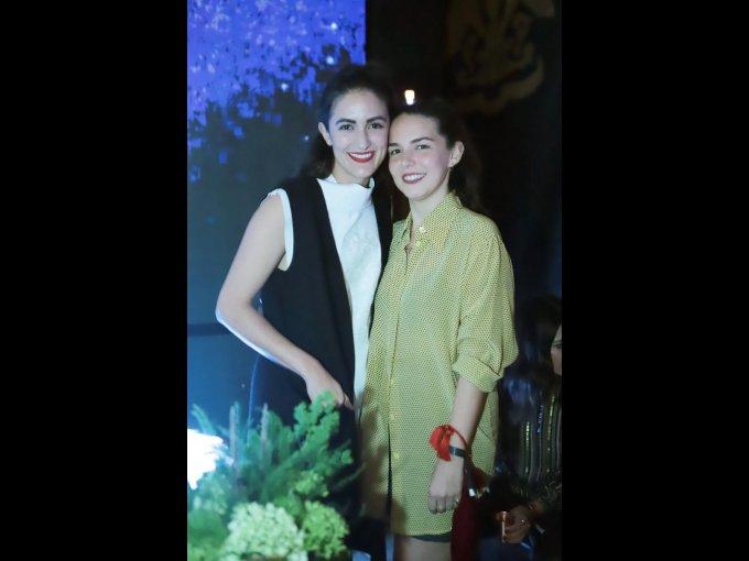 Rocío López y María Pallarés