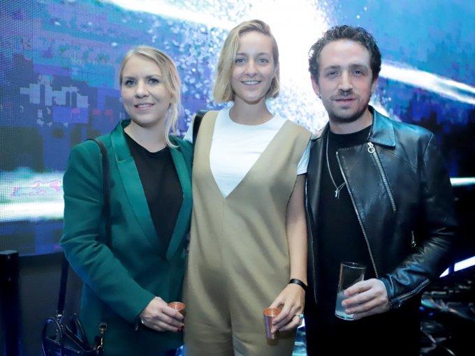 Bettina Kiehnle, Claudia Reyes Heroles y Pablo Wallentin