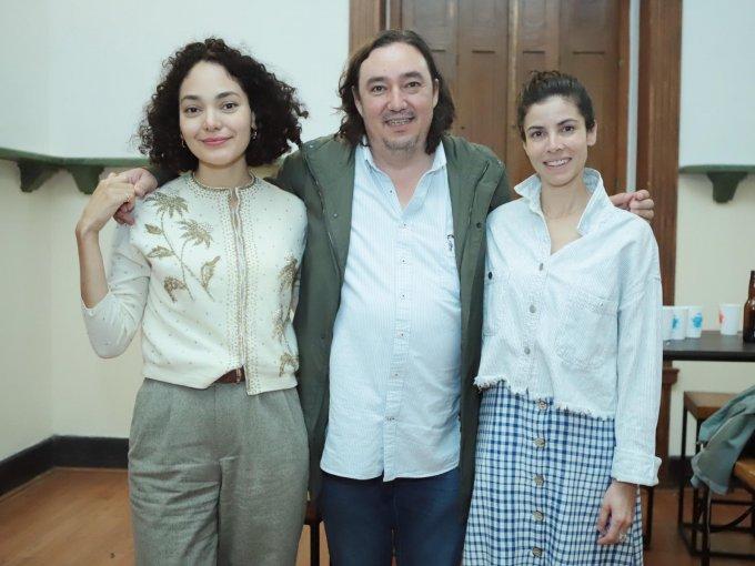 Sarahí Carrillo, Cuahutémoc Cárdenas Batel y Nathalia Plascencia