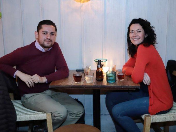 Julio Luna y Olga González