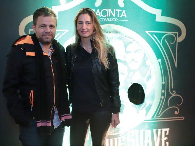 José Jarero y Mariana Zesati