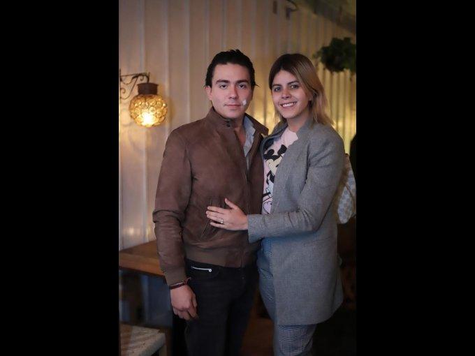 Juan Jarero y Ximena Vázquez