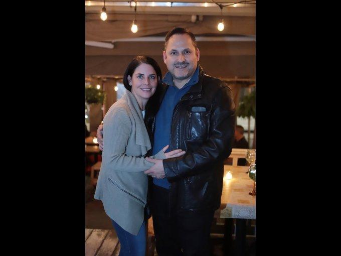 Zahie Téllez y Alberto Escobar