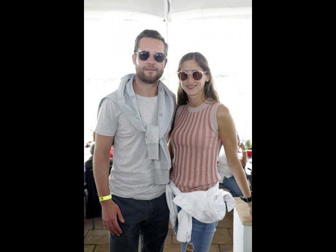 Eduardo Cristóbal y Camila Beteta