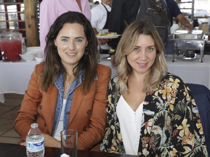 Denisse Iberri y Analía Aguilar