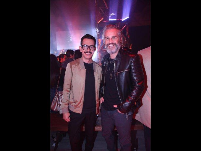 Manolo Caro y Juan Pablo Medina