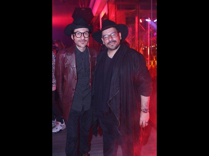 Víctor Hernal y Francisco Saldaña