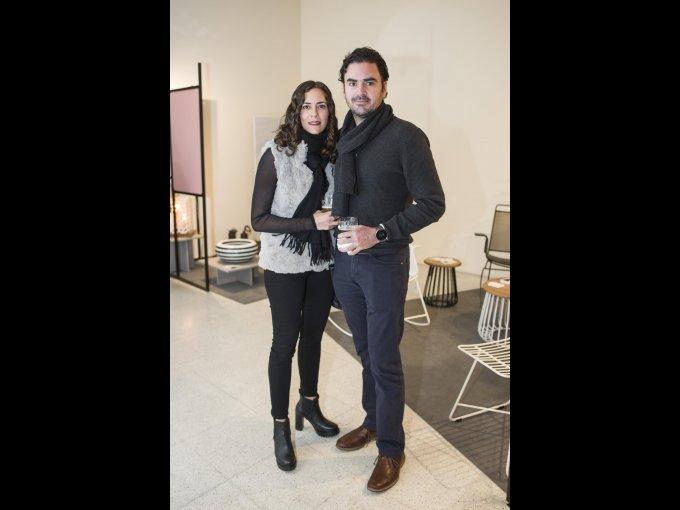 Viviana Ruiz Escoto y Jaime de Obeso