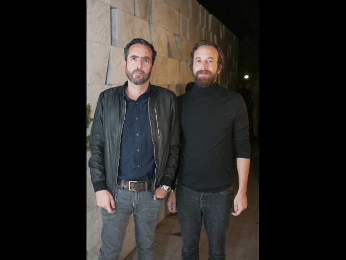 Santiago Lebrija y Rodrigo Madrazo