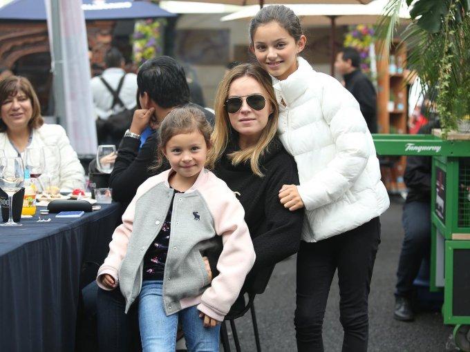 Miranda, Michelle y Renata García