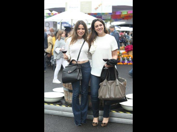 Mariela Herrasti y Mariana Peralta