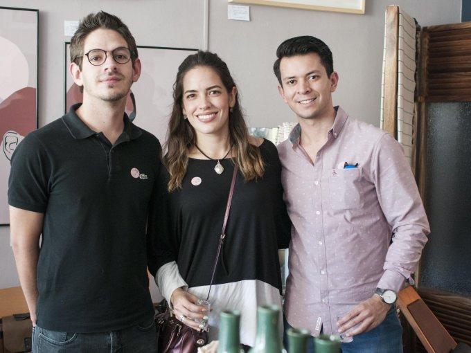 Roberto y Gilda Roel con Rogelio González