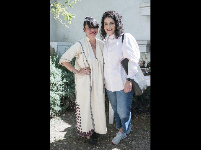 Renata Franco y Laura Ruiz
