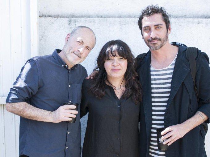 Ricardo Romo, Julia Franco y Andrés Arzate