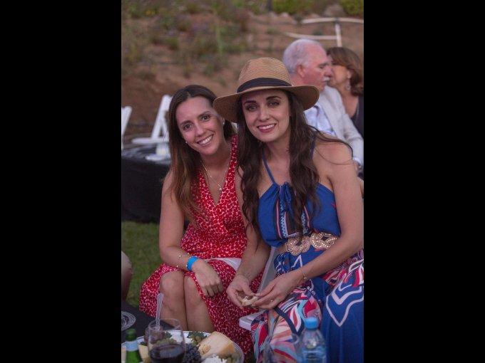 Andrea Recalde y Liliana Díaz