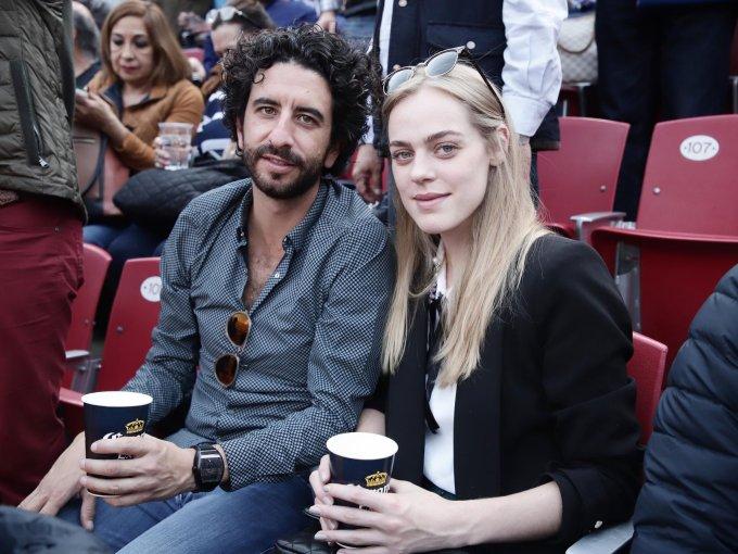 Alonso Rivero y Jessica Faustino