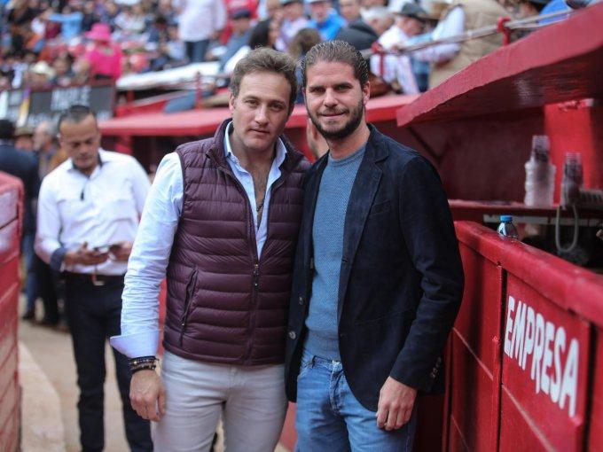 Mario Zulaica y Javier Sordo