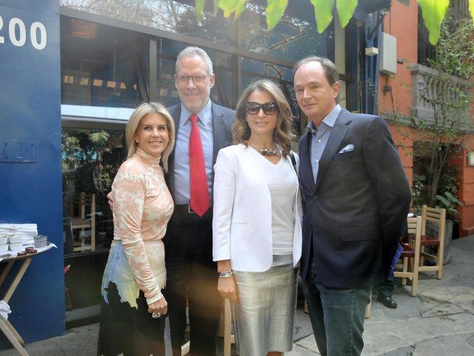Lulú Creel, José Tabachnik, Patricia Bessudo y Pablo Creel