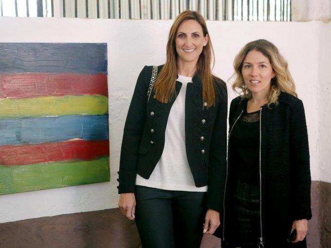 Galia Gitlien y Cecilia Preciado