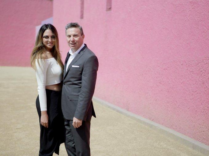 Alejandra Murguía y Rafael Micha