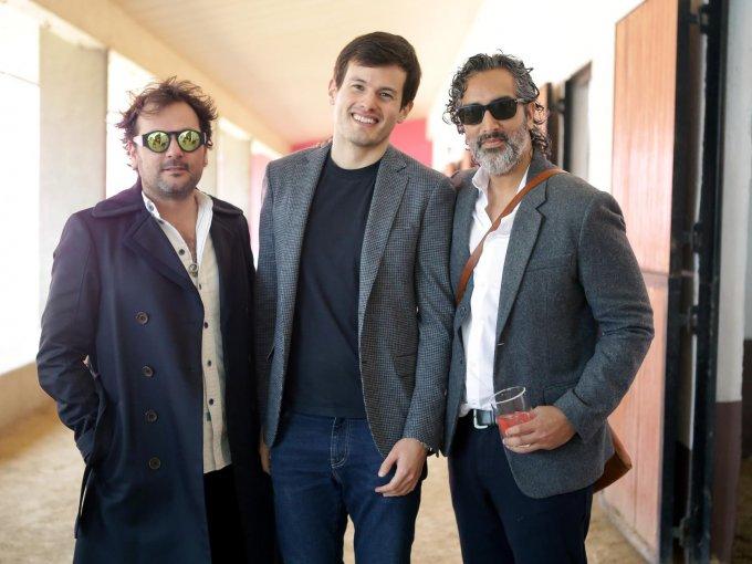 Gerardo Sarur, Michel Heredia y Amar Lalvani