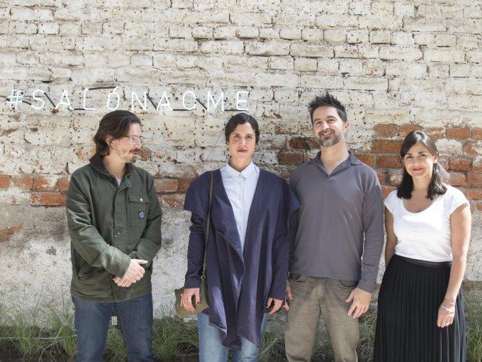 Alejandro Champion, Zazil Barba, Santiago Merino y Paula Duarte