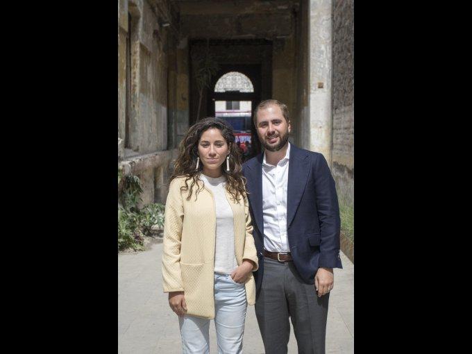 Sofía Casarín y Juan Fernando Zaragoza