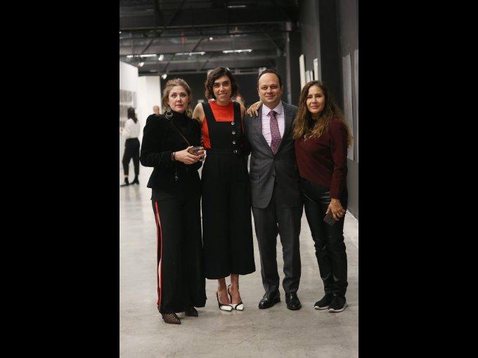 Marina Bostock, Itze González, Sergio Palacios y Guadalupe Lara