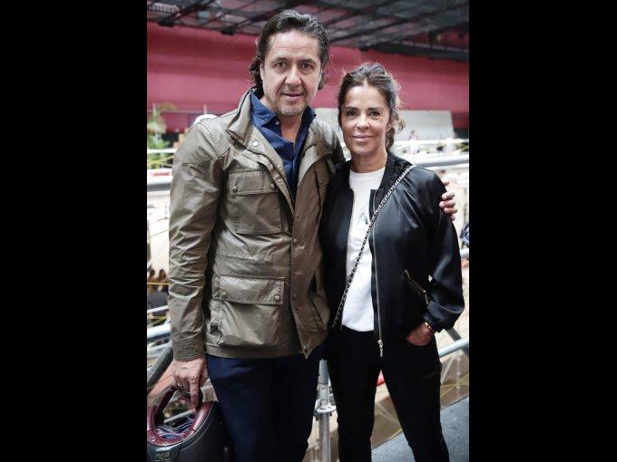 Ricardo Reyes con Karen Serdio