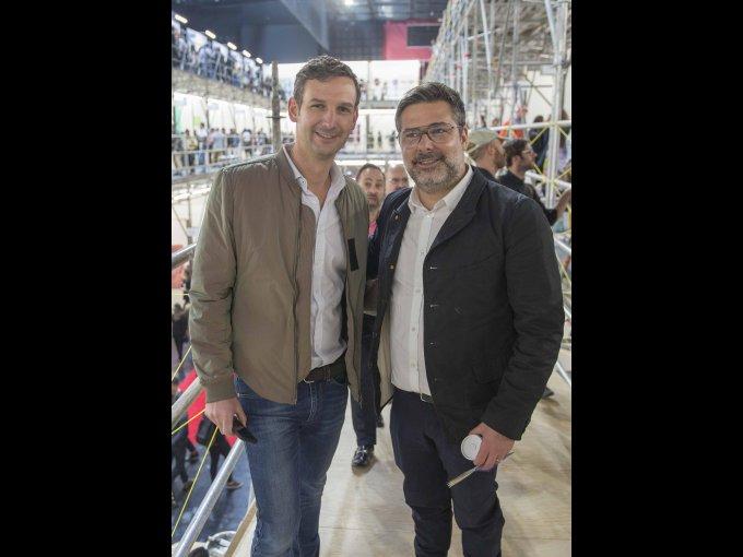 Santiago Porrero y Ricardo Porrero
