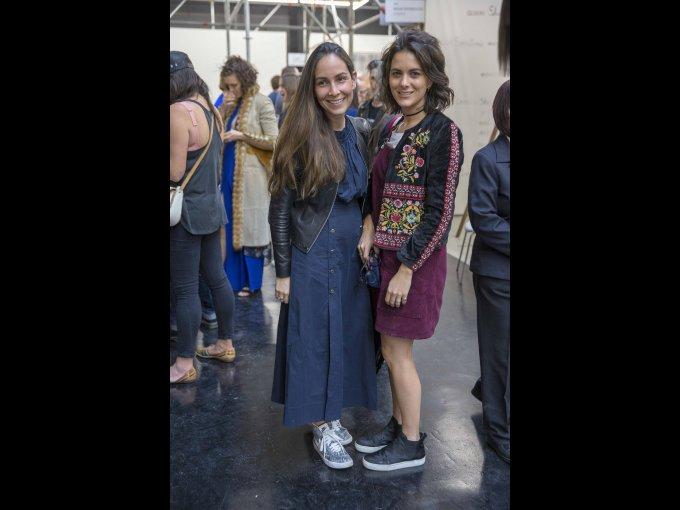 Tatiana Peralta y Mónica de Haro
