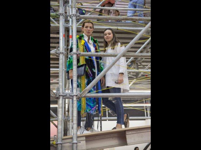 Sara Galindo y Margot Lozano