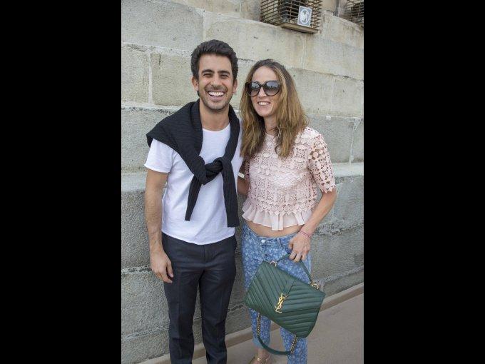 Joao Siqueira y Alessandra Modiano