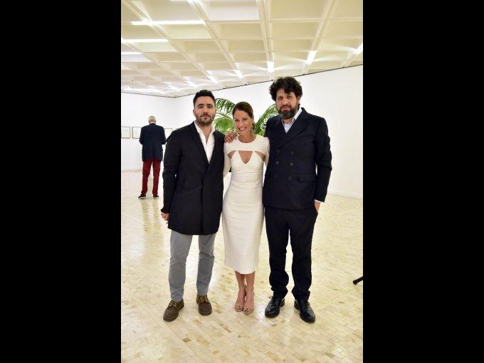 Humberto Moro, Tracy O'Brien y Juan Gaitán