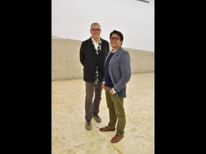 Stefan Roepke y Noel Estrada