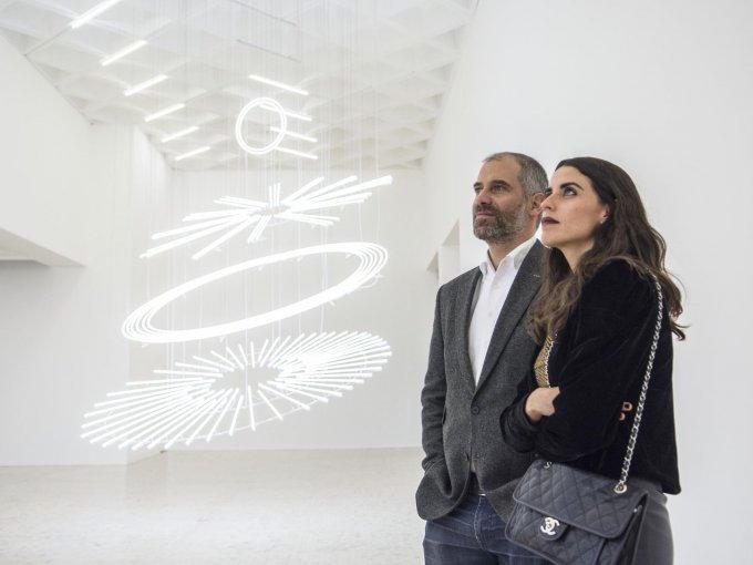 Rodrigo Lazo y Fernanda Gómez