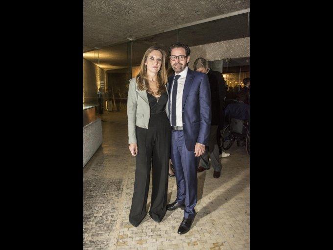 Alejandra Servitje y Fernando Elías Calles