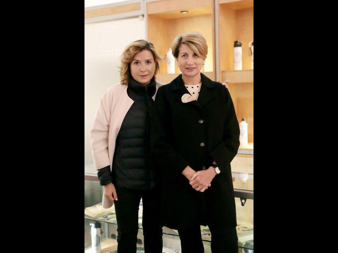 Ana Cabrera y Dolores Béistegui