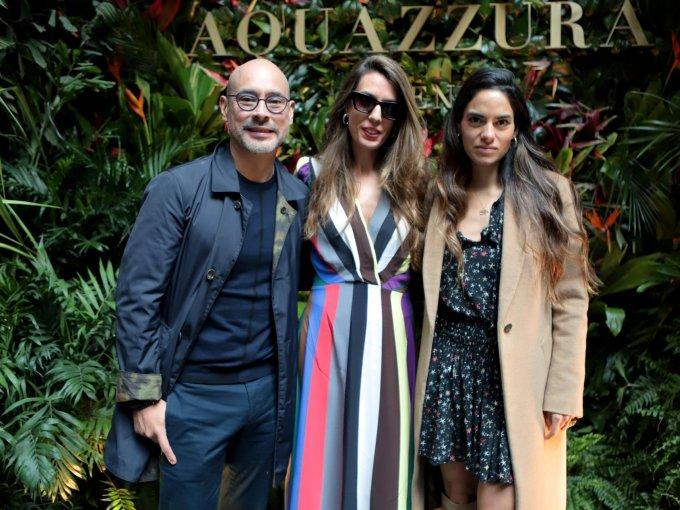 Jose Luis Palancares, Gabriela del Fueyo y Pilar Muñoz