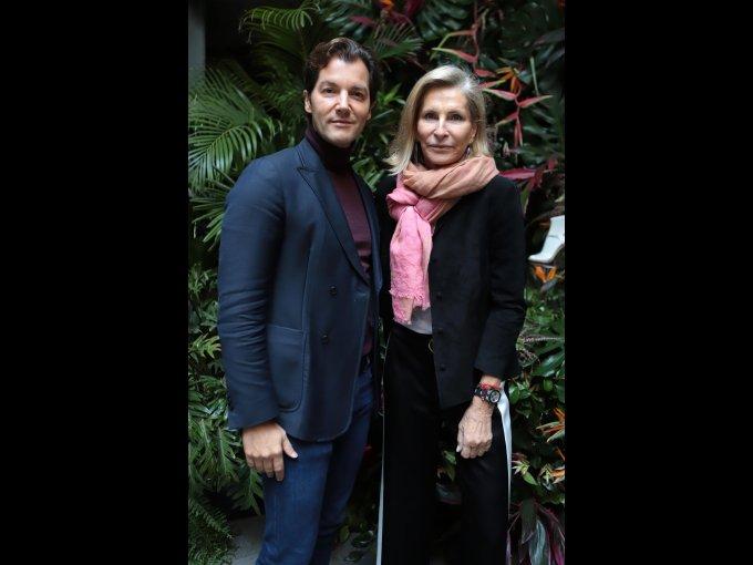 Ricardo Figueredo y Blanca Brillembourg