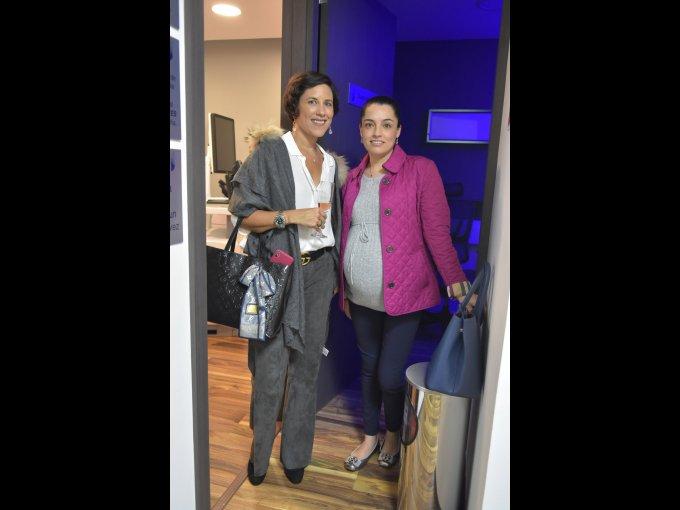 Cristina del Bosque y Julieta Garza