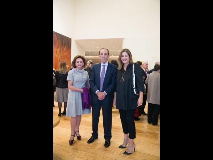 Adriana Salinas de Gortari, Manuel Arango y Marcela Aguilar