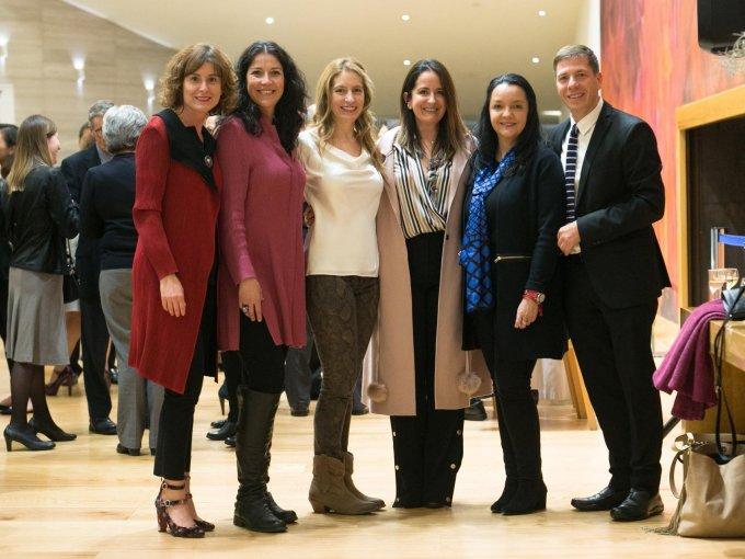 Marisol Fernández, Aura Treviño, Paulina Newman, Pilar Aguilar, Jessica Alemán y Gonzalo Serrano